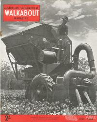 Walkabout cover, July 1956