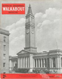 Walkabout cover, August 1957
