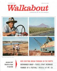 Walkabout cover, November 1964