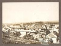 View from Wickham Terrace, 1876
