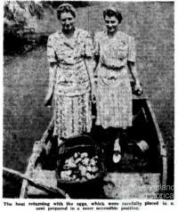 Raiding the crocodile's nest, 1943