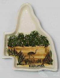 Karumba souvenir dish, 1950s