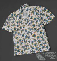 Queensland Railways blouse, c1980