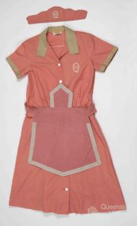 Queensland Railways Refreshment Room uniform