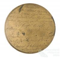 Eighteenth century seaman's compass