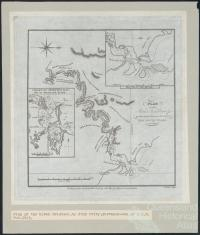 Plan of the River Brisbane by John Oxley, 1825