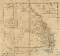 Pugh's Book Almanac, map of Queensland, 1862