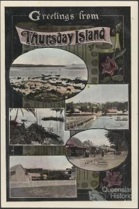Greetings from Thursday Island, postcard c1920