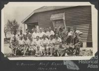 Scientific expedition members, Low Isles, 1928-29