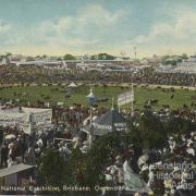 Show ground, National Exhibition, Brisbane, c1911