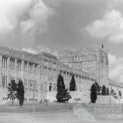 Front of the Forgan Smith Building, c1958