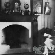 Reading a book, Nanango, 1923