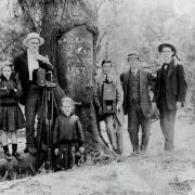 Landsborough's Camp 67 photo taken in 1912