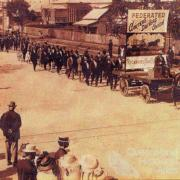 Eight Hour Day procession, Rockhampton, c1913