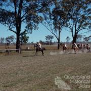 Picnic races at Burrandowan, near Kingaroy, 1979