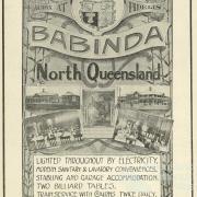 Advertisement, Babinda State Hotel, 1920