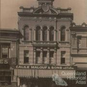 Calile Malouf & Sons, c1910