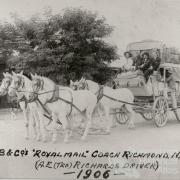 Cobb & Co, Richmond, 1906