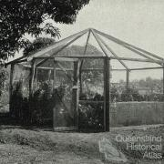 The Gordonvale garden gazebo, 1935