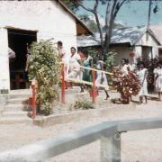 Attending church, Torres Strait, 1958