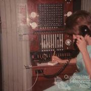 Manual telephone exchange, Talwood, 1965