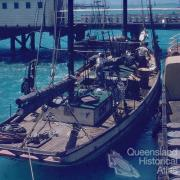 Pearling luggers, Thursday Island, 1959