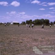 Vigoro game, Blackall, 1965