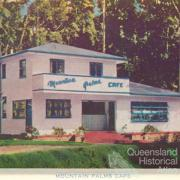 Palms café, Tamborine Mountain, c1938