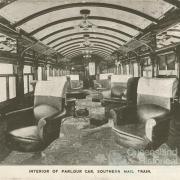 Parlour car, Southern Mail train, 1912