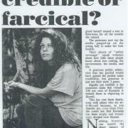 Protesters, credible or farcical, 1994