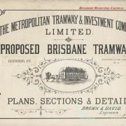 Proposed Brisbane tramways, 1887