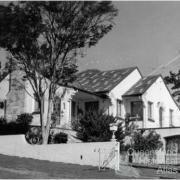 Interwar Spanish mission style home, Durack, Brisbane, 1972