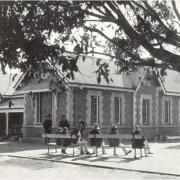 Goodna Asylum patients and staff