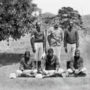 Sergeant James Whiteford and troopers, Cape York Peninsula, c1900