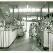 Espresso and milk bar, Londys café, Toowoomba, 1962