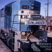 The Sunlander train, 1972