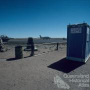 Birdsville airstrip with toilets, 1995