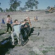 Archery, Fourth Australian 'Paraplegic Games', Carina, 1966