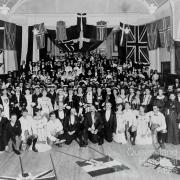 Scandinavian masquerade ball, South Brisbane Town Hall, c1906