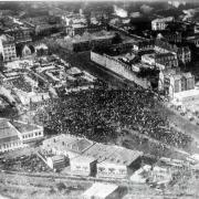 Laying of the foundation stone of the Holy Name Cathedral, 1928