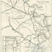 Darling Downs and Granite Belt (tourist map), c1935