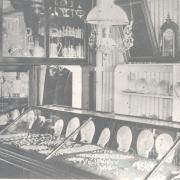 Pearl shell in Mrs Muller's store in Cooktown