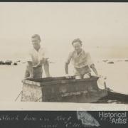 Underwater viewing, Low Isles, 1928