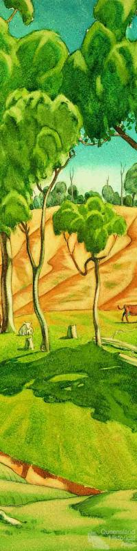 (Cattle and Creek) 1931