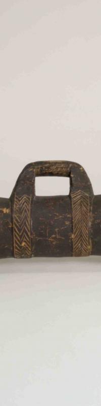 Drum from Saibai Island, Torres Strait, c1950s