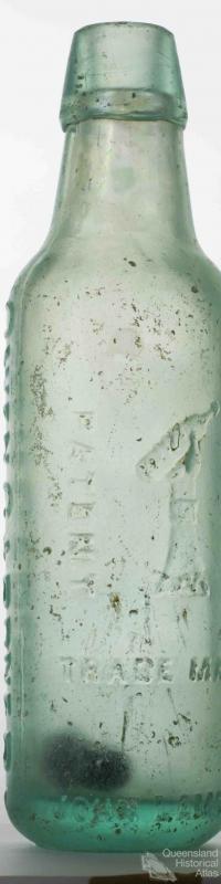 Owen Gardner, Lamonts, glass bottle