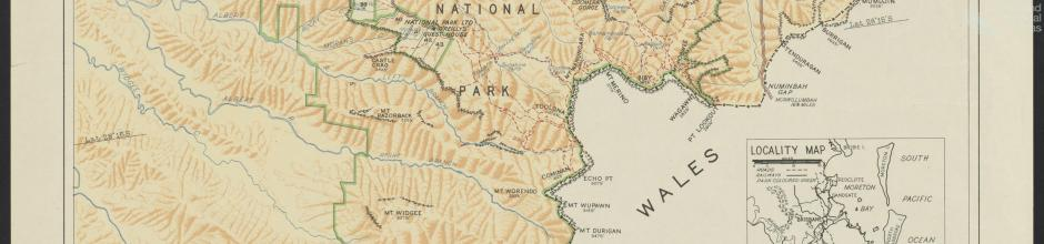 Lamington National Park, 1947
