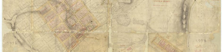 Plan of Bowen, 1861