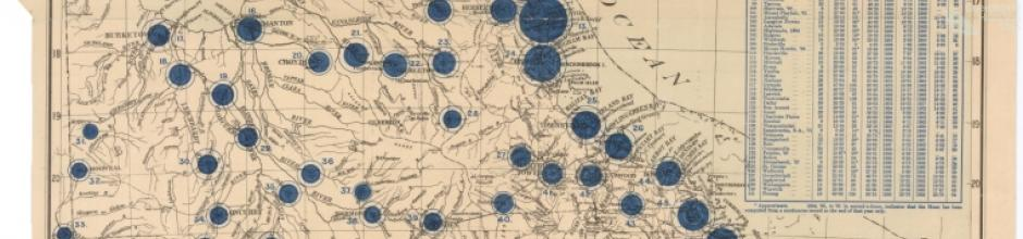 Annual rainfall, 1902