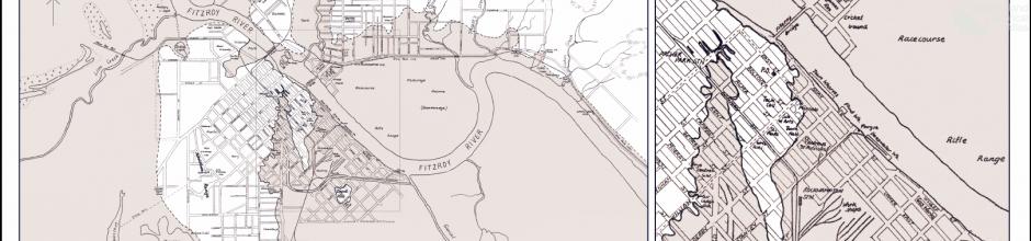 Floods, Rockhampton 1918 and 1954